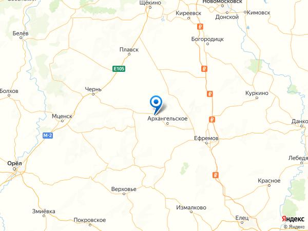 урочище Языковские Кусты на карте