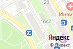 Схема проезда до компании You hostel в Москве