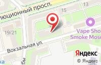 Схема проезда до компании Московская областная коллегия адвокатов в Подольске