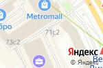 Схема проезда до компании Scooter-Lab в Москве