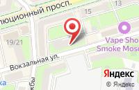Схема проезда до компании Адвокатский кабинет Сухаревой Т.В в Подольске