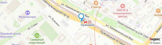 Новолужнецкий проезд