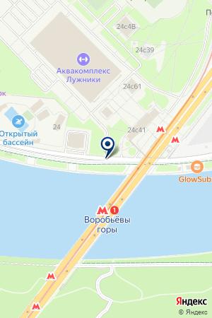 МИР ЭСПРЕССО РЕГИОНЫ МЭР на карте Москвы