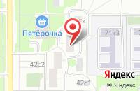 Схема проезда до компании Опен Холидей Ньюс в Москве
