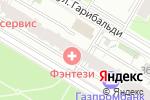 Схема проезда до компании Стоматологическая клиника Дмитрия Севастьянова в Москве