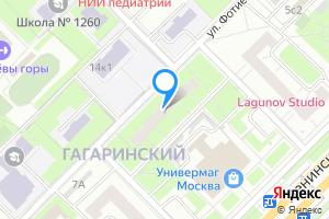 Сдается однокомнатная квартира в Москве м. Воробьевы Горы, улица Фотиевой, 7