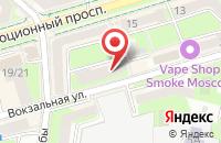Схема проезда до компании На здоровье в Подольске