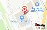 Схема проезда до компании LADA Авторусь в Подольске
