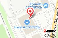 Схема проезда до компании У Сервис+ в Подольске