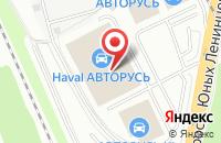 Схема проезда до компании Митсубиси Авторусь в Подольске