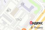 Схема проезда до компании Elegance в Москве