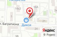 Схема проезда до компании Доктор Любви в Подольске