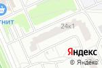 Схема проезда до компании Bali в Москве