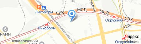 Силонекс+ на карте Москвы