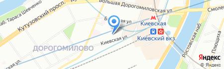 SyntaRex на карте Москвы