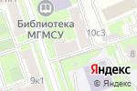 Схема проезда до компании Электронная онлайн библиотека Gumoreska в Москве