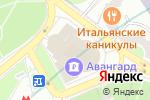 Схема проезда до компании Инком-авто в Москве