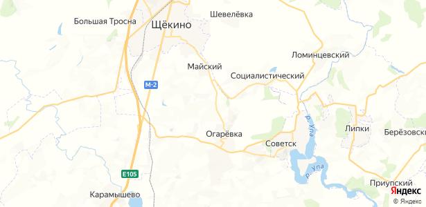 Большая Мостовая на карте