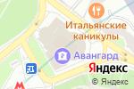 Схема проезда до компании Мелодия здоровья в Москве