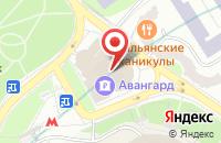 Схема проезда до компании Грация мебель в Жуковском