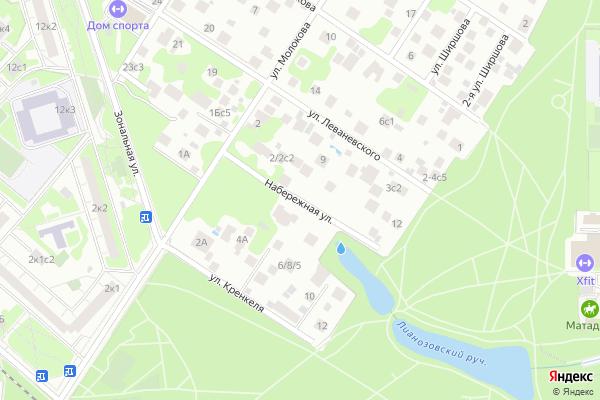 Ремонт телевизоров Улица Набережная на яндекс карте