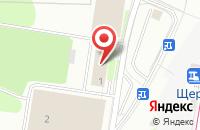 Схема проезда до компании Savi Art в Щербинке
