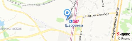 Группа ХОМА на карте Москвы