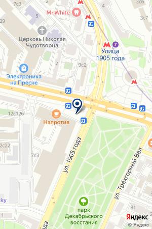 ИЗДАТЕЛЬСТВО МЕДИА ИМИДЖ на карте Звенигорода