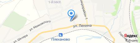 Плехановская средняя общеобразовательная школа №17 на карте Хрущёво