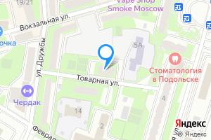 Двухкомнатная квартира в Подольске Московская область, Товарная улица, 4