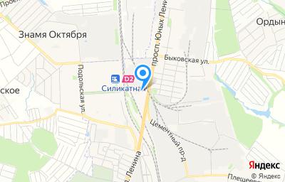 Местоположение на карте пункта техосмотра по адресу Московская обл, г Подольск, пр-кт Юных Ленинцев, д 1И стр 2