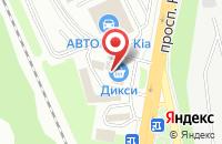 Схема проезда до компании Варшавский двор в Подольске