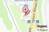 Схема проезда до компании АЗС Нефтьмагистраль в Подольске