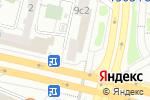Схема проезда до компании ТВОЕ в Москве