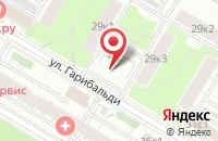 Схема проезда до компании Лансье в Москве