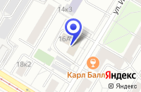 Схема проезда до компании ИНФОРМАЦИОННОЕ АГЕНТСТВО ДОНТ в Москве