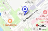 Схема проезда до компании КБ ЕВРОПРОМИНВЕСТ БАНК в Москве