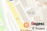 Схема проезда до компании Dellos-delivery в Москве