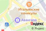 Схема проезда до компании АКБ Авангард в Москве