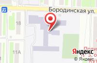 Схема проезда до компании Средняя общеобразовательная школа №13 в Подольске