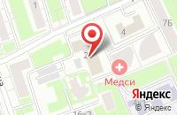 Схема проезда до компании Винсофт в Москве