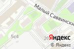 Схема проезда до компании ИНТЭКА в Москве