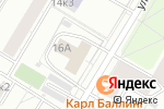 Схема проезда до компании КБ Металлург в Москве