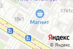 Схема проезда до компании КОММЕРС в Москве