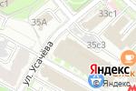 Схема проезда до компании ГрафТех РУС в Москве