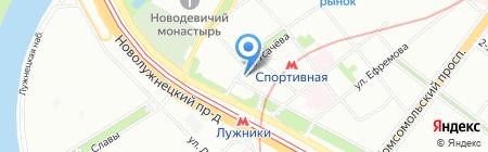 Юридическое Содействие Бизнесу на карте Москвы