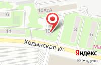 Схема проезда до компании Летисия в Москве