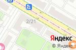 Схема проезда до компании Компания по ремонту ресторанного оборудования в Москве