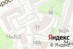 Схема проезда до компании Кутузов в Москве