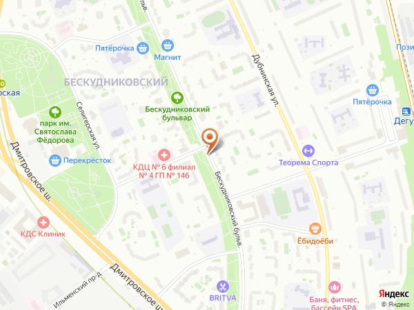 Остановка Бескудниковский пер. в Москве